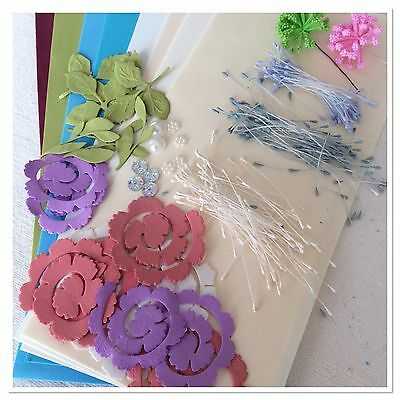 Foamiran (Genuine) Flower Making Foam Starter Pack All Quality Products Pk E