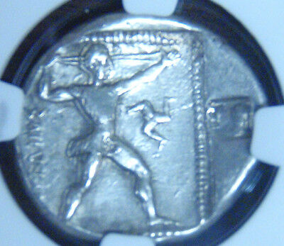 Pamphylia , Aspendus 4Th-3Rd Century Bc Ar Stater Ngc Vf With Countermark