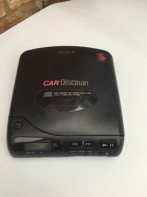 SONY D-800K CAR DISCMAN CD PLAYER, GOOD CONDITION Tested Working