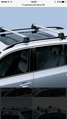 BMW Roof  Bars For f31 Touring