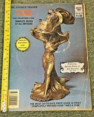 1978 Winter Edition The Antique Trader *price Guide To Antiques*