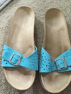 Next Turquoise Sandals  Mules Shoes