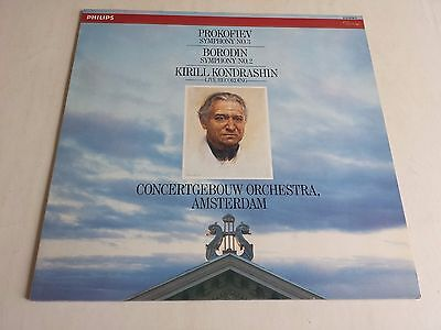 Prokofiev Symphony No. 3 Kirill Kondrashin Lp Philips 412 070-1 Holland Issue Nm