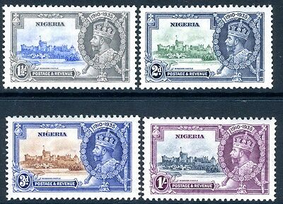 NIGERIA-1935 Silver Jubilee Set Sg 30-33 LIGHTLY MOUNTED MINT V16936