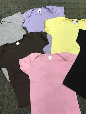 70 Pc Lot New American Apparel Infant Short Sleeve Tees Sizes 3/6M - 18/24M