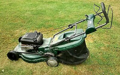 McCulloch Elite 49PD Lawn Mower Self Propelled Petrol Repair starts Qualcast