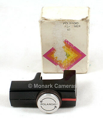 Self-Timer for Polaroid SX-70 Cameras, Other Instant Camera Accessories Listed.