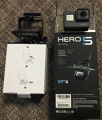GOPRO BLACK HERO5 12 MP WATERPROOF 4K WiFi CAMERA CAMCORDER CHDHX-501