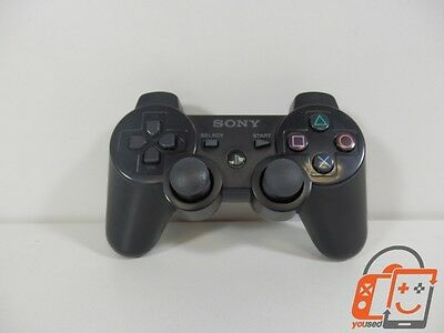 Original Playstation 3 PS3 DualShock 3 Controller Black STARK GEBR. E001/2613988