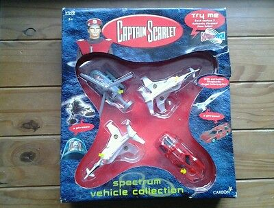 CAPTAIN SCARLET VEHICLE COLLECTION..NEW/BOXED..VIVID IMAGINATIONS..2001..See des