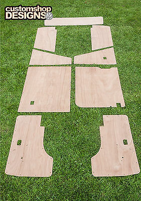 VW T25 Transporter Camper Van Door Cards / Interior Panel 3.6mm Ply Trim Kit
