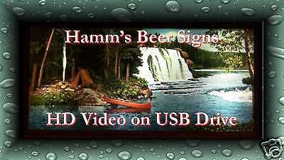 Hamms Beer Signs on USB HD Video; Four Classic Vintage Motion & Neon; Ebay Only