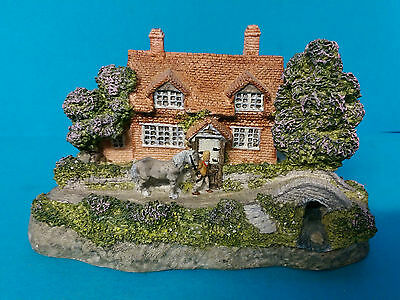 Spring by Kate Woodlock The Four Seasons Danbury Mint Cottage