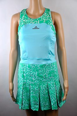 adidas Stella McCartney Barricade Tenniskleid Dress Australia Tennis 32 34 36 38