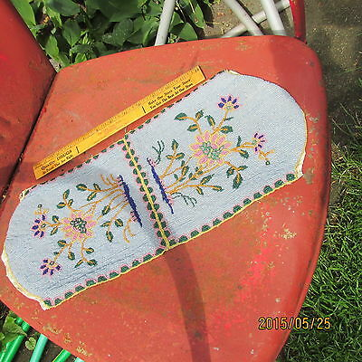 Antique Native American Indian Beaded - BAG ?