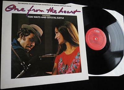 TOM WAITS & CRYSTAL GAYLE - One From The Heart - Film Soundtrack - EX/EX