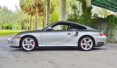 2002 Porsche 911  Only 10,000 Miles - Florida Owned AWD 3.6L Turbo Coupe Tiptronic - Clean Title