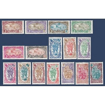 Cote Des Somalis N°67 A 82, Timbres Neufs Annee 1909