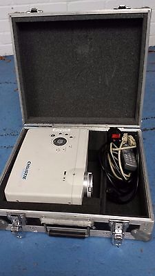 Christie VIVID LX25 LCD projector in Flight case