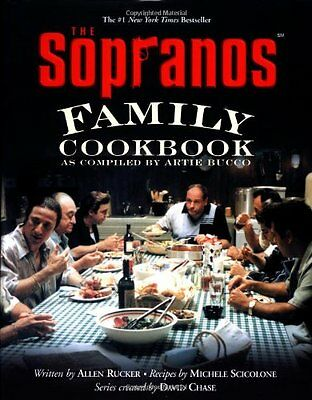 The Sopranos Family Cookbook - Italian Meatballs Pasta What Tony was eating! NEW