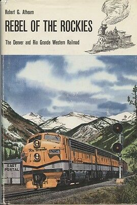 Athearn REBEL Of The ROCKIES D&RGW 1962 1st Ed