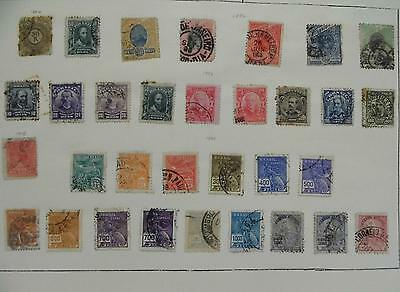 Brazil Stamps 1894-1920 Hinged,