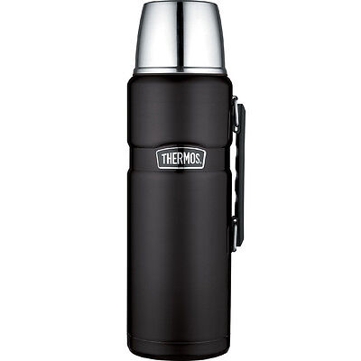 The Stainless King Vacuum Insulated Beverage Bottle - Black - 2L, 2.3100 Weight