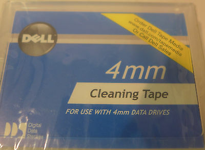 (4) Dell 01X023 4mm Cleaning Tape JP-01X023-15930-59M-01J5