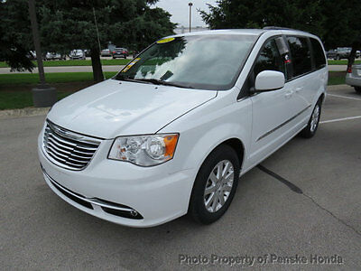 2014 Chrysler Town & Country 4dr Wagon Touring 4dr Wagon Touring Van Automatic V6 Cyl WHITE