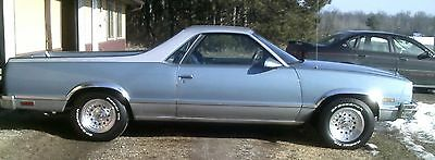 1987 Chevrolet RWD  1987 elcamino/ps/pb/ac/tilt/cruise/4.3 v6 /fresh paint/drv/home