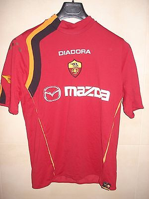 Camiseta Football Shirt Maglia As Roma Diadora Italia Italy 2004-2005 Montella