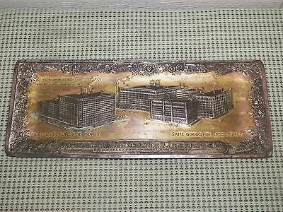 Vintage Advertising  Pen Tray -- American Wholesale Corporation