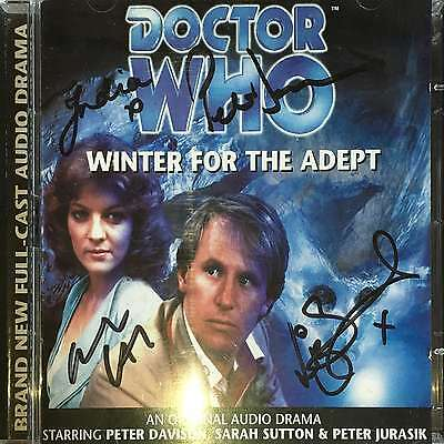 Winter For The Adept - Doctor Who (Audio CD) - Signed by Peter Jurasik +  [CH]
