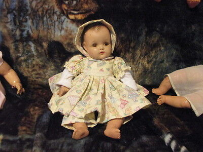 Vintage  Very Pretty 18 Inch Composion Doll