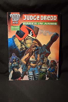 Judge Dredd Babes in Arms (2000AD Wagner and Ennis)