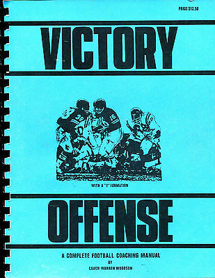 Victory Offense with a T Formation, Warren Woodson 1970, Football Plays Diagrams
