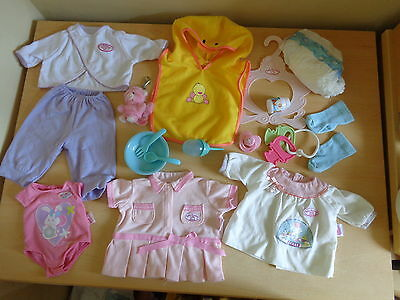 Big Bundle of Baby Born/Annabel Clothes and Accessories (4)