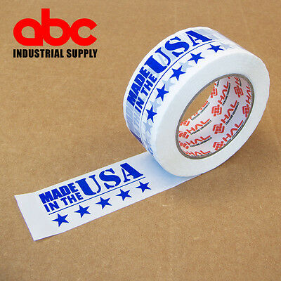 """1 Roll 2"""" Made in USA  Printed Shipping Packing Tape 330 Feet 110 yards"""