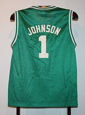 Maillot Trikot Jersey Nba Basket Basketball Boston Celtics Johnson S