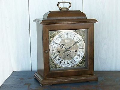 Hamilton Brentwood 8 day Westminster Chime Solid Maple Mantel Clock