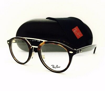 New Ray Ban Eyeglasses RB 5354 5674 Havana Gold 50•21•145 With Original de62376f2c2e