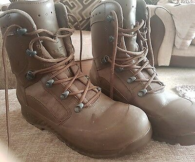 Haix Brown MTP Gore-tex Army Issue Combat Boots