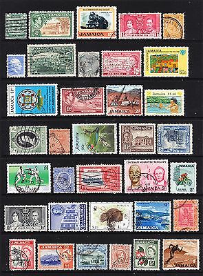 A Selection of Jamaica Stamps (m63-77)