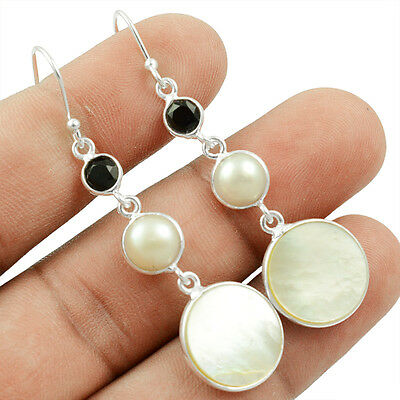 Biwa Pearl 925 Sterling Silver Earring Allison Co Jewelry E-28617