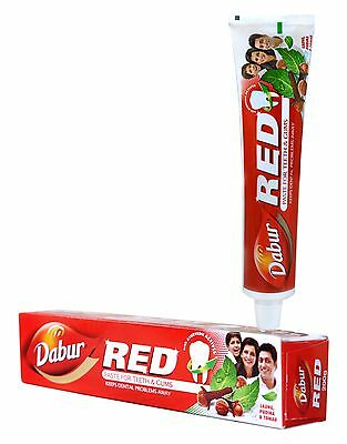 Dabur Red Toothpaste Keeps Dental Problems Away Available in 100 gm Pack