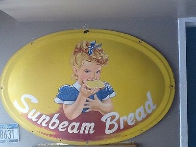 SUNBEAM OVAL BREAD SIGN [Original]