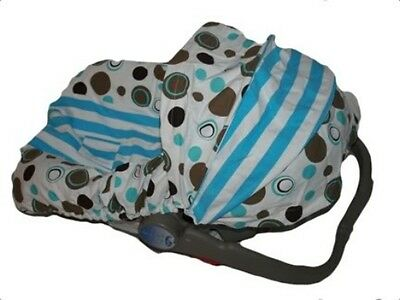 NEW BOYS Infant CAR SEAT COVER-For Graco Evenflo-NATE