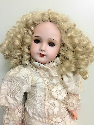 Antique French Bisque Doll Unis 301 ERT On A Comp Body 21""
