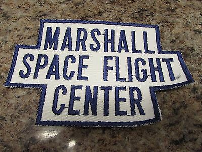 "NASA ORIGINAL PICTURES Patch Marshall Space Flight Center size 4"" x 6""    46"