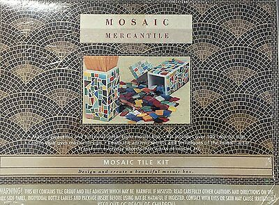 Italian Mosaic Tile Mercantile Picture Frame